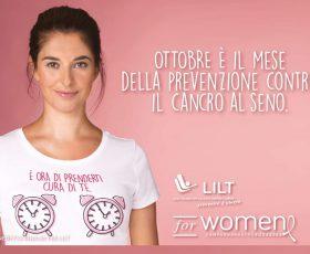 Campagna Nastro Rosa 2020 – LILT for WOMEN